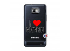 Coque Samsung Galaxy S2 I Love Maman