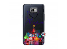 Coque Samsung Galaxy S2 I Love Moscow