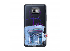 Coque Samsung Galaxy S2 I Love Paris Arc Triomphe