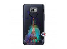 Coque Samsung Galaxy S2 I Love Paris