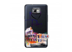 Coque Samsung Galaxy S2 I Love Rome