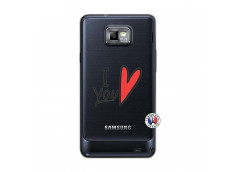 Coque Samsung Galaxy S2 I Love You