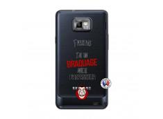 Coque Samsung Galaxy S2 J Peux Pas J Ai Un Braquage Avec Le Professeur