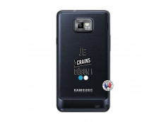Coque Samsung Galaxy S2 Je Crains Degun