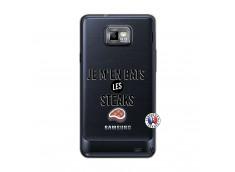 Coque Samsung Galaxy S2 Je M En Bas Les Steaks