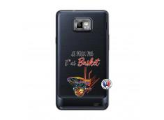 Coque Samsung Galaxy S2 Je Peux Pas J Ai Basket