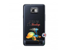 Coque Samsung Galaxy S2 Je Peux Pas J Ai Bricolage