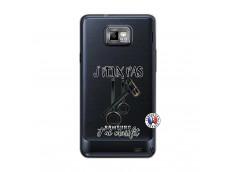 Coque Samsung Galaxy S2 Je peux pas j'ai crossfit