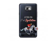 Coque Samsung Galaxy S2 Je Peux Pas J Ai Equitation