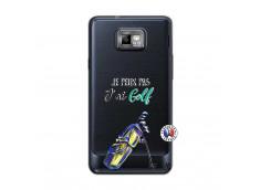 Coque Samsung Galaxy S2 Je Peux Pas J Ai Golf