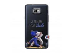 Coque Samsung Galaxy S2 Je peux pas j'ai Judo