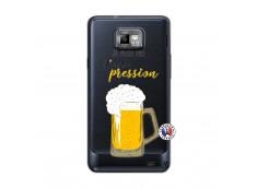 Coque Samsung Galaxy S2 Je peux pas J'ai la Pression