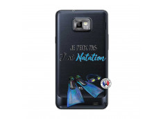 Coque Samsung Galaxy S2 Je Peux Pas J Ai Natation