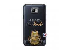 Coque Samsung Galaxy S2 Je Peux Pas J Ai Rando