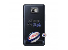 Coque Samsung Galaxy S2 Je Peux Pas J Ai Rugby
