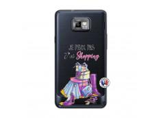 Coque Samsung Galaxy S2 Je Peux Pas J Ai Shopping