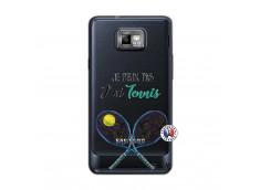 Coque Samsung Galaxy S2 Je Peux Pas J Ai Tennis