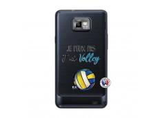 Coque Samsung Galaxy S2 Je Peux Pas J Ai Volley