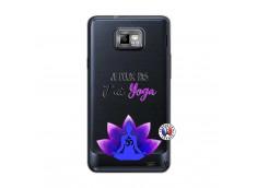 Coque Samsung Galaxy S2 Je Peux Pas J Ai Yoga
