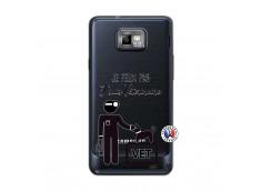 Coque Samsung Galaxy S2 Je Peux Pas Je Suis Veterinaire