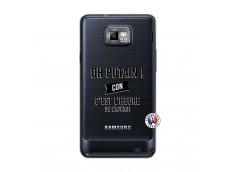 Coque Samsung Galaxy S2 Oh Putain C Est L Heure De L Apero