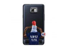 Coque Samsung Galaxy S2 Papa Super Heros