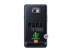 Coque Samsung Galaxy S2 Papa Tu Piques