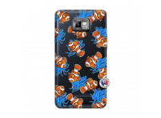 Coque Samsung Galaxy S2 Poisson Clown