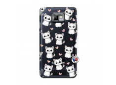 Coque Samsung Galaxy S2 Petits Chats