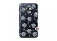 Coque Samsung Galaxy S2 Petits Elephants