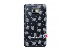 Coque Samsung Galaxy S2 Petits Hippos