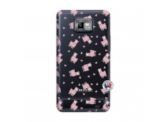 Coque Samsung Galaxy S2 Petits Moutons