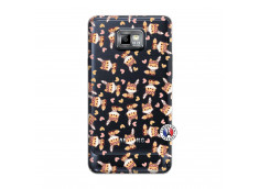 Coque Samsung Galaxy S2 Petits Renards