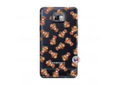 Coque Samsung Galaxy S2 Petits Poissons Clown