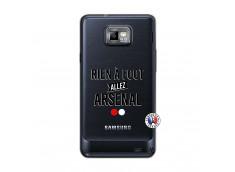 Coque Samsung Galaxy S2 Rien A Foot Allez Arsenal