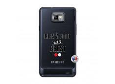 Coque Samsung Galaxy S2 Rien A Foot Allez Brest