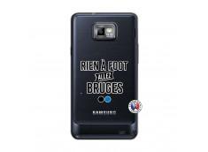 Coque Samsung Galaxy S2 Rien A Foot Allez Bruges