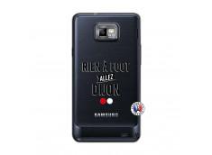 Coque Samsung Galaxy S2 Rien A Foot Allez Dijon