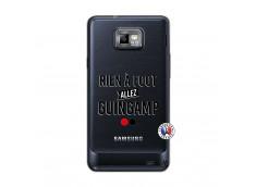 Coque Samsung Galaxy S2 Rien A Foot Allez Guingamp