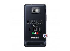Coque Samsung Galaxy S2 Rien A Foot Allez L'Italie