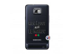Coque Samsung Galaxy S2 Rien A Foot Allez Le Maroc