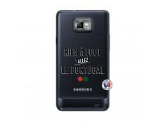 Coque Samsung Galaxy S2 Rien A Foot Allez Le Portugal
