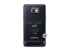 Coque Samsung Galaxy S2 Rien A Foot Allez Paris
