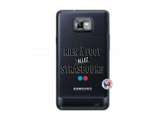 Coque Samsung Galaxy S2 Rien A Foot Allez Strasbourg