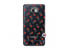Coque Samsung Galaxy S2 Rose Pattern