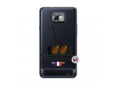 Coque Samsung Galaxy S2 100 % Rugbyman Entre les Poteaux