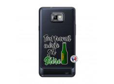 Coque Samsung Galaxy S2 Tout Travail Merite Sa Biere