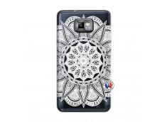 Coque Samsung Galaxy S2 White Mandala