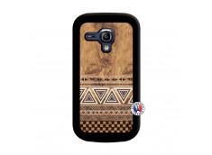 Coque Samsung Galaxy S3 Mini Aztec Deco Noir