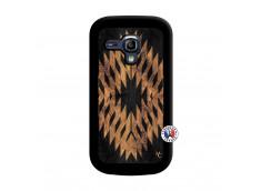 Coque Samsung Galaxy S3 Mini Aztec One Motiv Noir